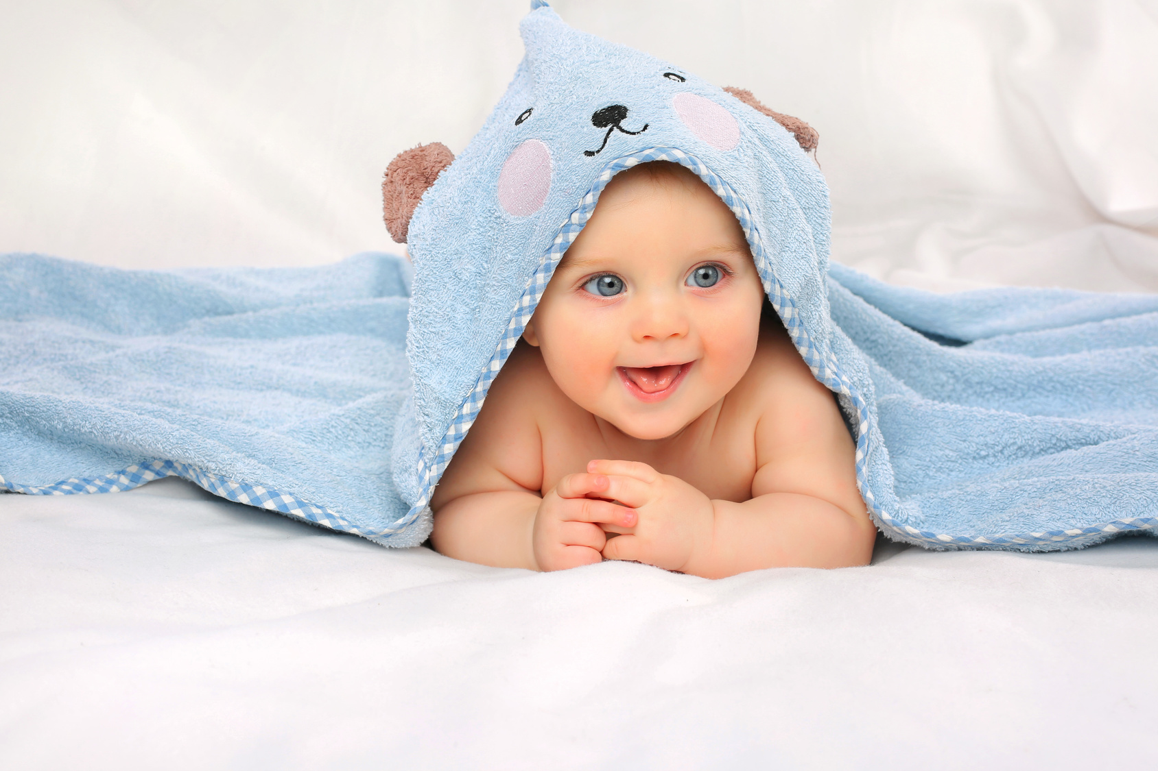 Blue eye baby - genetic testing designer babies