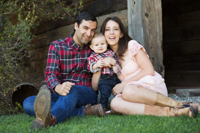 Loma Linda University Center for Fertility patient story - The Newbold family: Shanna, Gerard and baby Wyatt