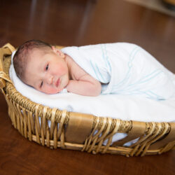 Baby photo album | LLU Center for Fertility | Baby's First Photoshoot