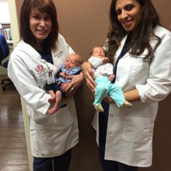 Twins with Dr. Bareh and Dr. Corselli | Loma Linda University Center for Fertility & IVF