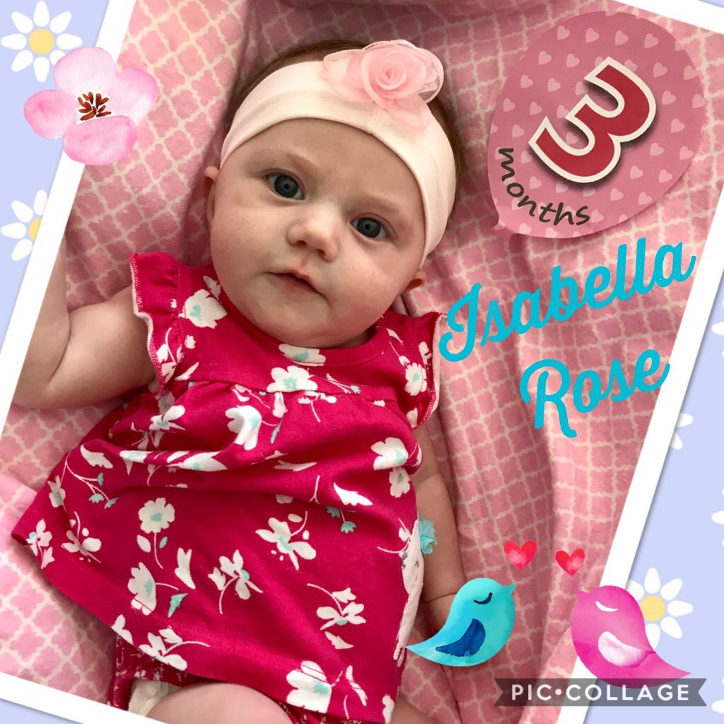 Right Fertility Treatment Patient Story | LLU Center for Fertility | Photo of Isabella at 3 months