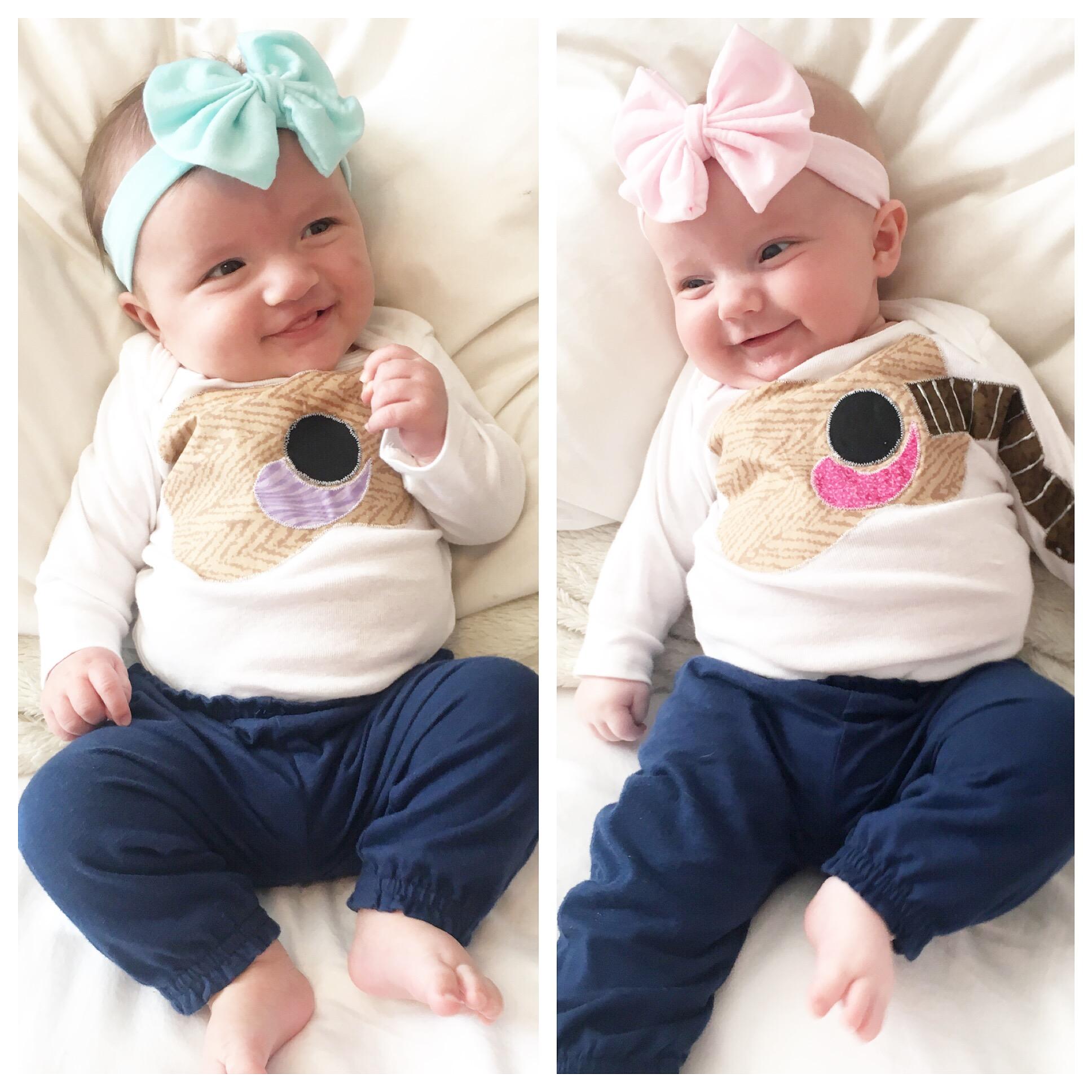 Babies Alice & Amelia at 3 months | LLU Center for Fertility