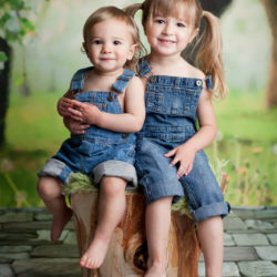 Cuties in Overalls