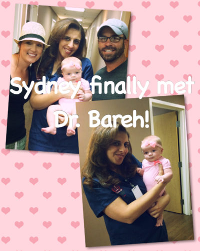 Baby Photo Album: Our Miracle Baby, Sydney Mog with Dr. Bareh